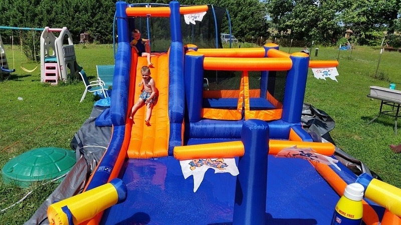 Blast Zone Pirate Bay Inflatable Bouncer Review