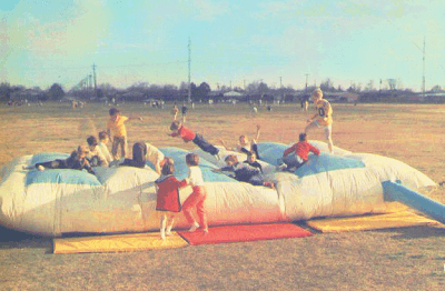 Original bounce house by John Shurlock.