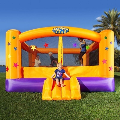 Blast Zone Superstar inflatable bouncer.