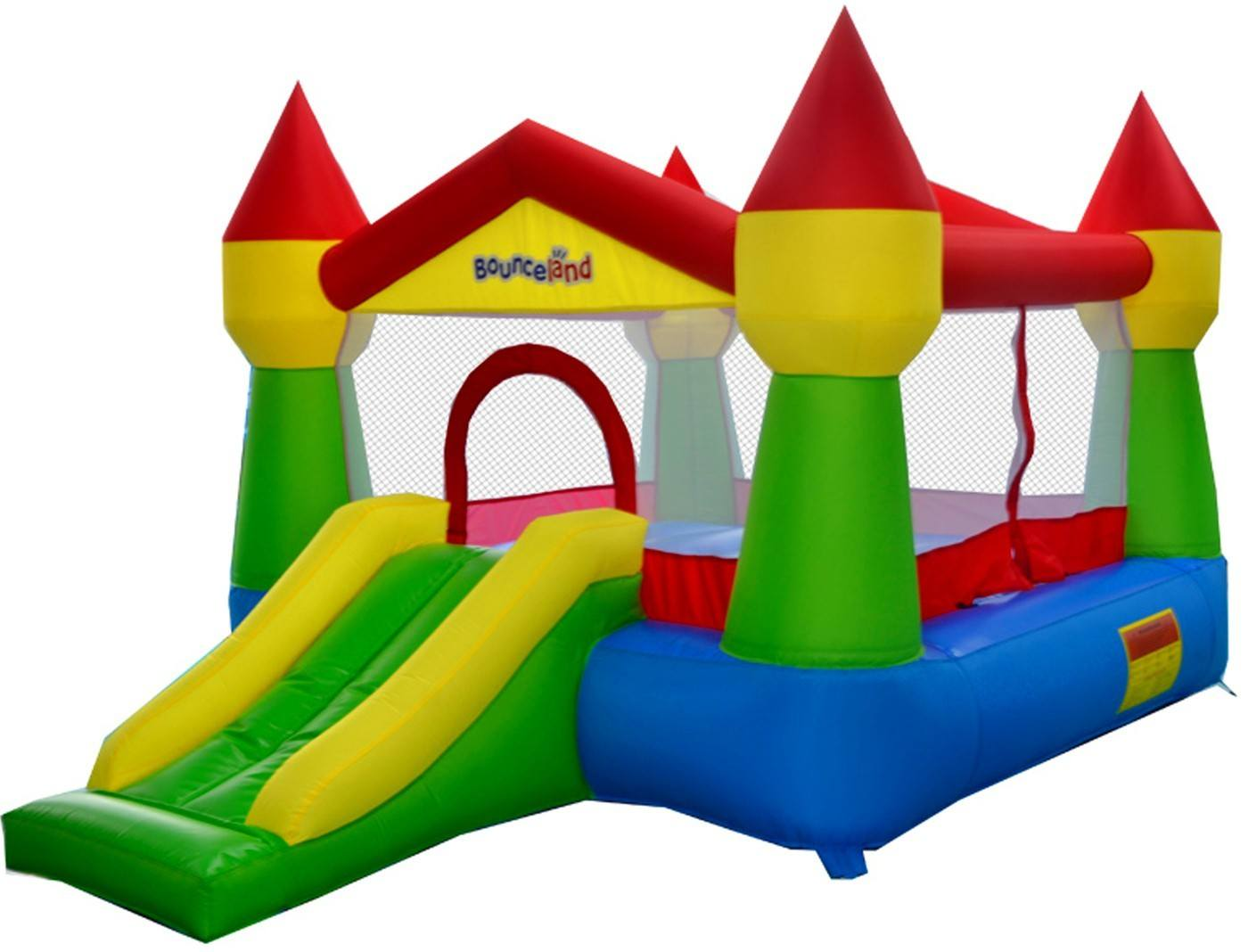 the magic castle inflatable bounce house has great reviews and is perfect for families on a budget