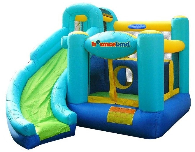 BounceLand Ultimate Combo Bounce House is a great bouncy castle for your kid's parties