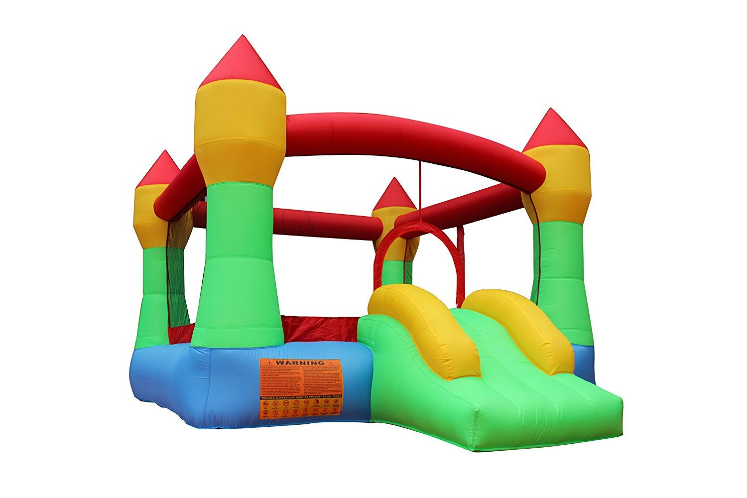 Cloud 9 inflatable bouncy castle makes great kids parties