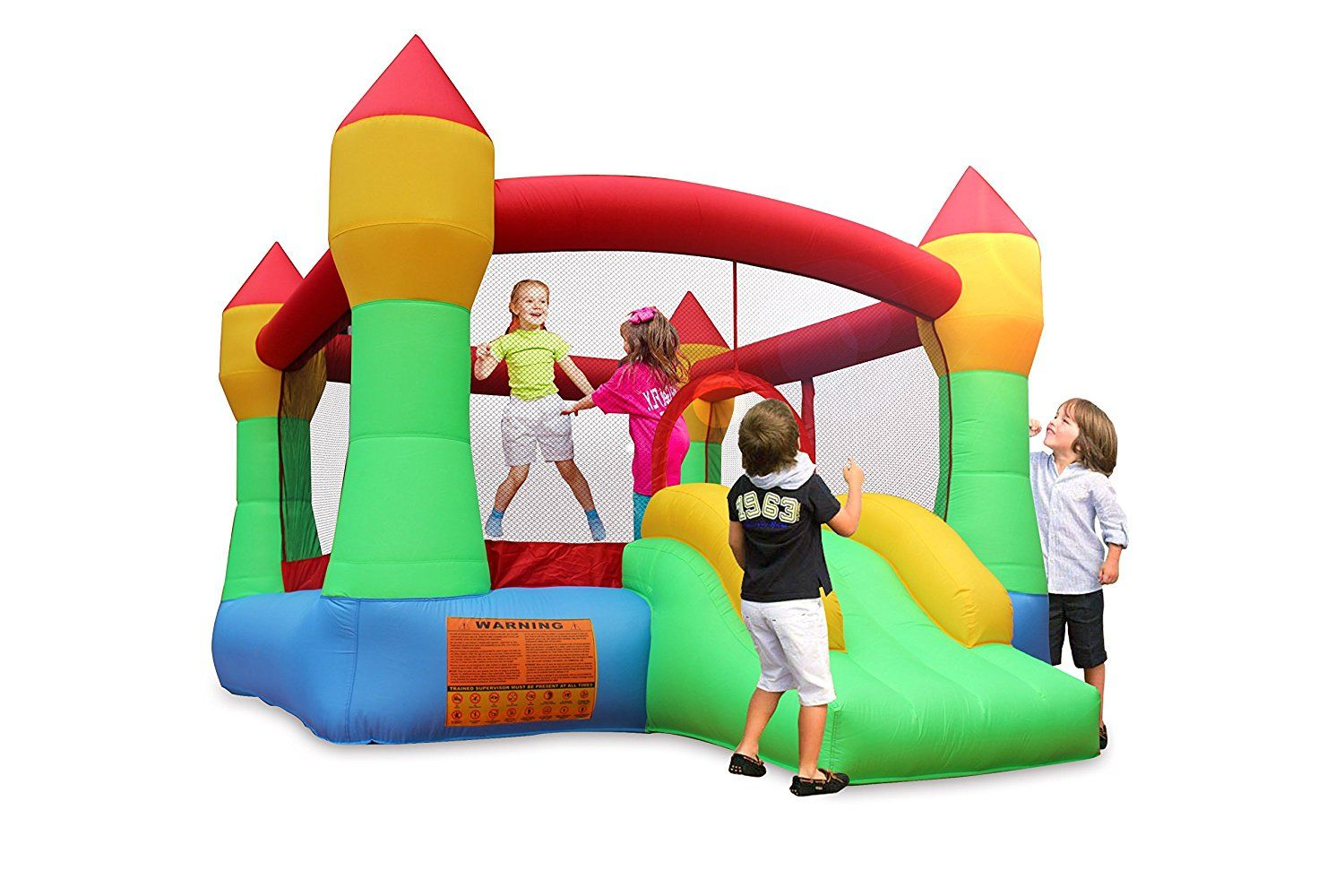 Cloud 9 bouncy castle is great for young families