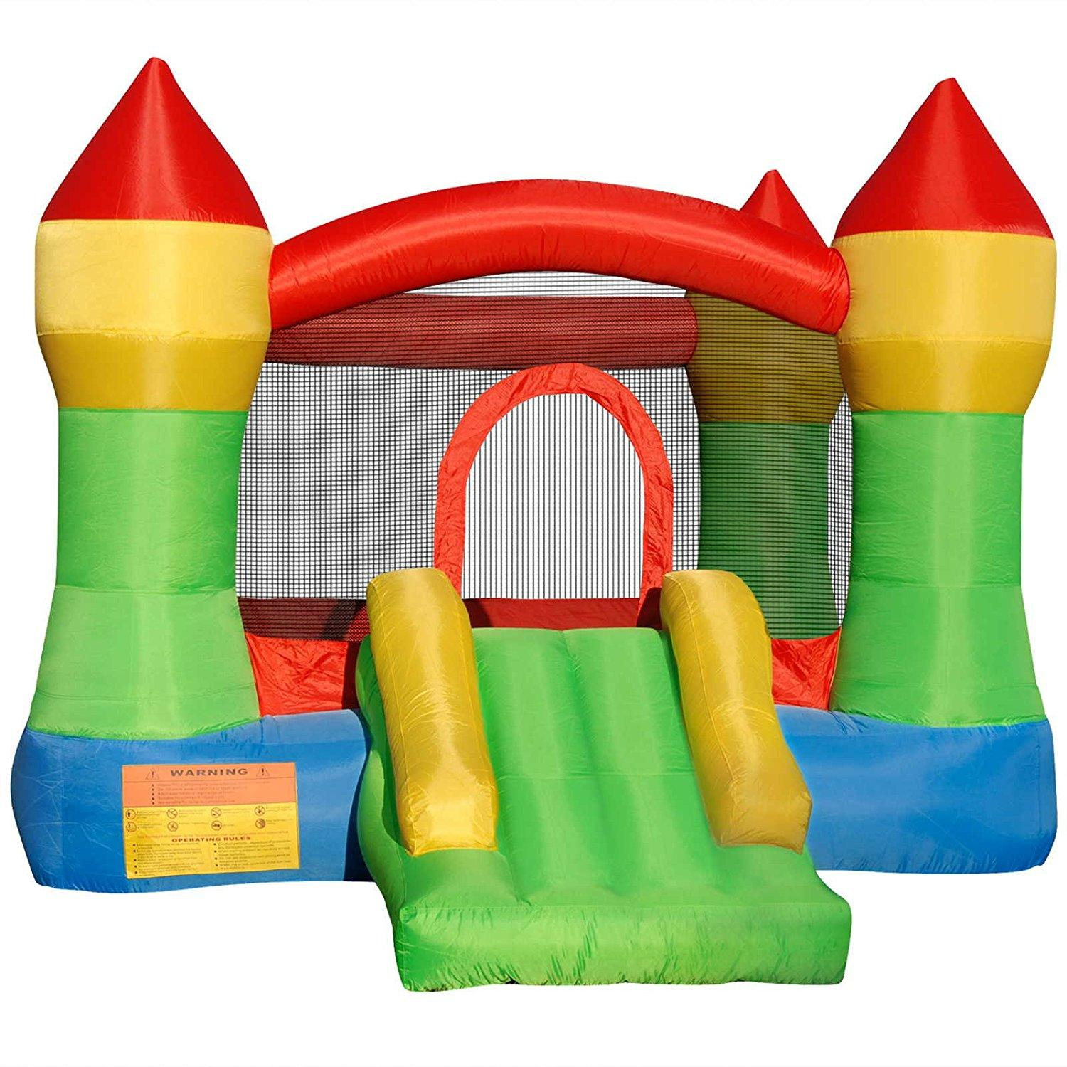 The Cloud 9 Bounce House is a simple bounce house perfect for toddlers