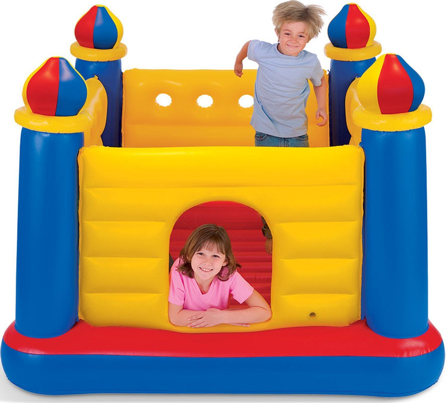 a small size inflatable bounce house perfect for toddlers