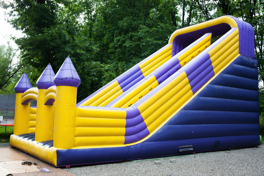 Inflatable Residential Water Slides And Bouncers All You Need To Know